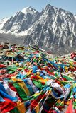 Buddhist prayer flags Royalty Free Stock Photography