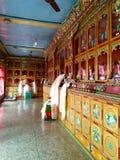 Buddhist prayer hall Stock Images