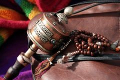 Free Buddhist Prayer Wheel Royalty Free Stock Images - 14073139