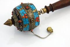 Buddhist prayer wheel Stock Photography