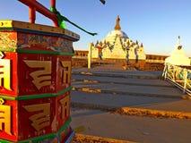 Buddhist prayer wheel Royalty Free Stock Photo