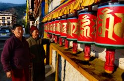 Buddhist Prayer Wheel Royalty Free Stock Image