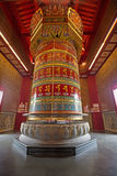 Buddhist prayer wheel Royalty Free Stock Photos
