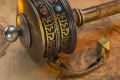 Buddhist Prayer Wheel - Nepal Stock Photos