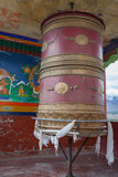 Buddhist prayer wheel Royalty Free Stock Images