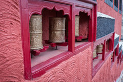 Buddhist prayer wheel Stock Photography