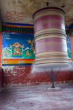 Buddhist prayer wheel Stock Images