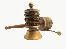 Buddhist Prayer Wheels Royalty Free Stock Images