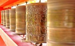 The buddhist Prayers Stock Photo