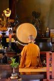 Buddhist priest, Tokyo, Japan Stock Photo