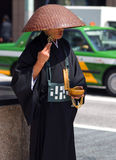 Buddhist priest, Tokyo, Japan Stock Images