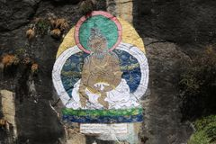 Buddhist refers to the beliefs and practices royalty free stock photo