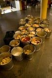 Buddhist  refreshments, Dalai Lama temple, McLeod Ganj, India Stock Photos