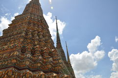 Buddhist relics tower Royalty Free Stock Photography