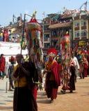 Buddhist Religious Celebration Kathmandu Nepal Royalty Free Stock Images