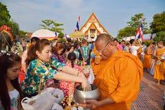Buddhist religious ceremony Stock Photography