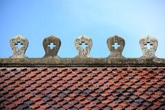 Buddhist roof Stock Photos