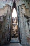 buddhist rujnuje świątynię Fotografia Royalty Free