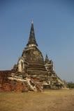 buddhist rujnuje świątynię Zdjęcie Royalty Free