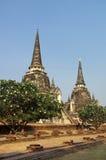 buddhist rujnuje świątynię Obraz Royalty Free