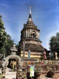 Buddhist& x27; s świątynia w Bangkok zdjęcia stock