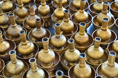 Buddhist's Grail. The pattern of the Buddist water libation vessles Stock Image
