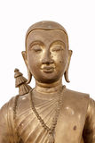 Buddhist saint statue. Royalty Free Stock Photo