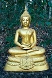 Buddhist Sculpture - The Meditating Buddha Royalty Free Stock Photography