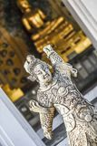 Buddhist sculpture at a temple in Bangkok, Thailand. Buddhist sculpture at a temple in Bangkok, Thailand Stock Photography