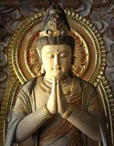 Buddhist sculptures Royalty Free Stock Photography