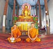 Buddhist service Stock Photography