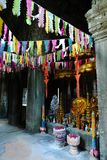 Buddhist shrine at Banteay Kdei, Angkor Stock Photos