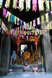 Buddhist shrine at Banteay Kdei, Angkor Stock Images