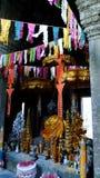 Buddhist shrine at Banteay Kdei temple, Angkor Royalty Free Stock Photos