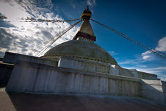 Buddhist Shrine Boudhanath Stupa. Nepal, Kathmandu Royalty Free Stock Image