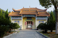 Buddhist shrine. China's Hunan province, Hengshan mountain Royalty Free Stock Images