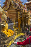 Doi Suthep Buddhist Temple - Chiang Mai - Thailand Royalty Free Stock Photography