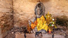BUDDHIST SHRINE, EAST MEBON stock image