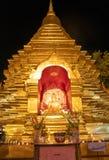 Buddhist shrine finished golden Stock Photography