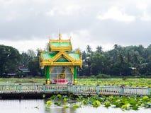 Buddhist shrine in Myeik, Myanmar Stock Image