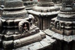 Buddhist Shrine Swayambhunath Stupa. Nepal Royalty Free Stock Photo