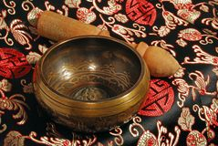 Singing Bowl Stock Photography