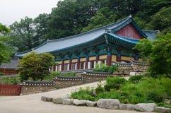 Buddhist Sinheungsa Temple in Seoraksan National Park, South kor Royalty Free Stock Image