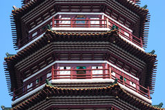 The Buddhist Six Banyan Tree Temple, Guangzhou, China Royalty Free Stock Photos