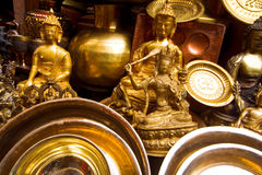 Buddhist Souvenirs Stock Photography
