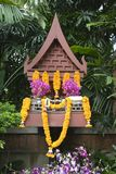Buddhist spirit house Stock Images