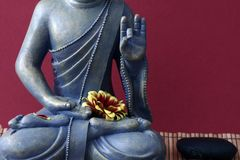 Buddhist statue Royalty Free Stock Photography
