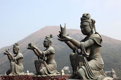 Buddhist Statue Stock Photo
