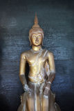 Buddhist statue. At a temple on Koh Samet, Thailand - travel and tourism Royalty Free Stock Photography