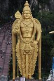 Buddhist statue in Batu Caves Royalty Free Stock Photography